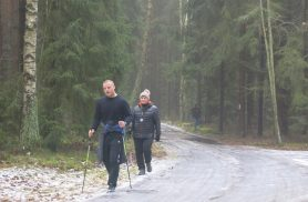 V Zimowy (?!) Rajd Nordic Walking